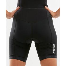 2XU Active Triathlon-puku Naiset, black/sunset ombre